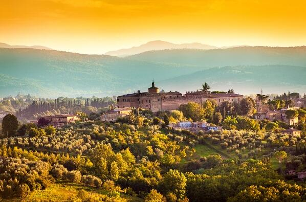 Tuscany in October, November and December