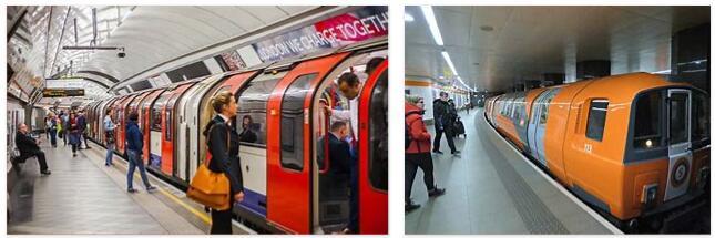 Britain has three underground networks