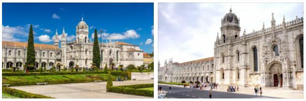 Jeronimos Monastery and Belém Tower in Lisbon (World Heritage)