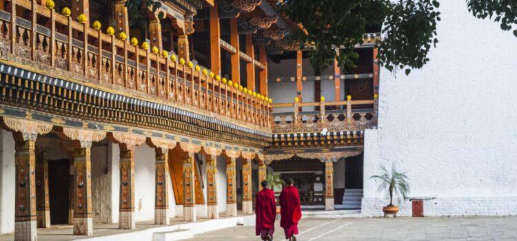 Bhutan hiking trip
